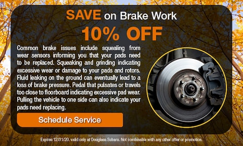 Brake Work Special
