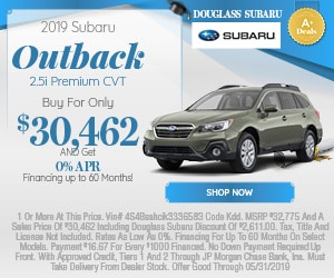 May 2019 Outback Special