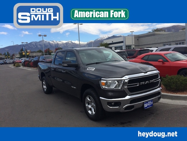 New 2019 Ram 1500 BIG HORN / LONE STAR CREW CAB 4X4 6'4 BOX Crew Cab in American Fork, UT