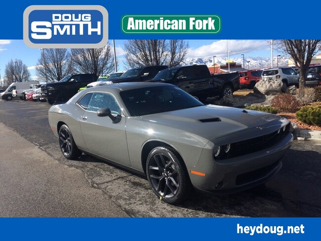 New 2019 Dodge Challenger SXT Coupe in American Fork, UT