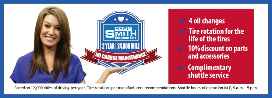 No Charge Maintenance on All New Chryler Dodge Jeep Ram at Doug Smith Dealer Utah