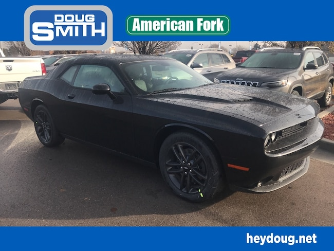 New 2019 Dodge Challenger SXT AWD Coupe in American Fork, UT