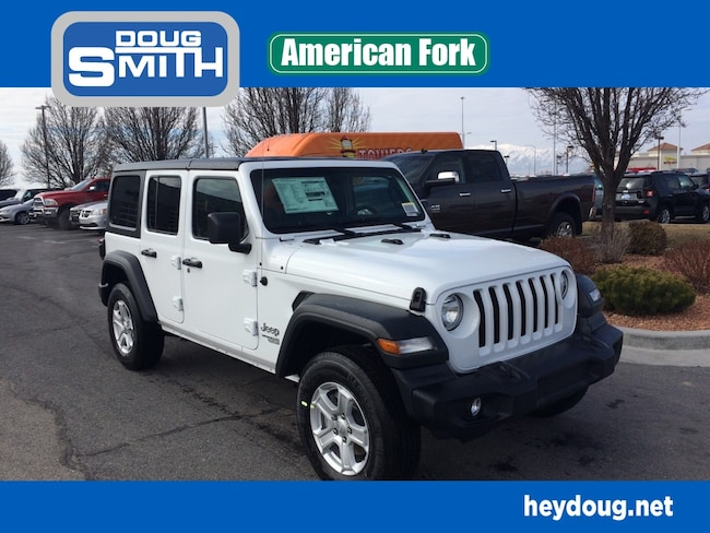 New 2019 Jeep Wrangler UNLIMITED SPORT S 4X4 Sport Utility in American Fork, UT