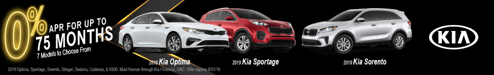 0% APR on New Kia Models at Doug Smith Kia in American Fork Utah