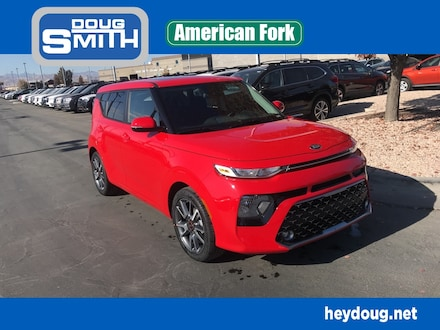 Featured New 2021 Kia Soul GT-Line Hatchback for Sale in American Fork, UT