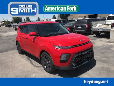 Featured New 2021 Kia Soul EX Hatchback for Sale in American Fork, UT