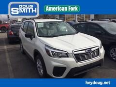 New Subaru 2019 Subaru Forester Standard SUV JF2SKACC9KH484576 for sale in American Fork, UT