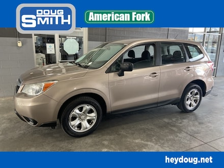 Featured used 2014 Subaru Forester 2.5i SUV for sale in American Ford, UT
