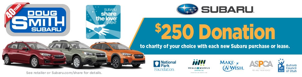 Subaru Share The Love Event at Doug Smith Subaru in Utah