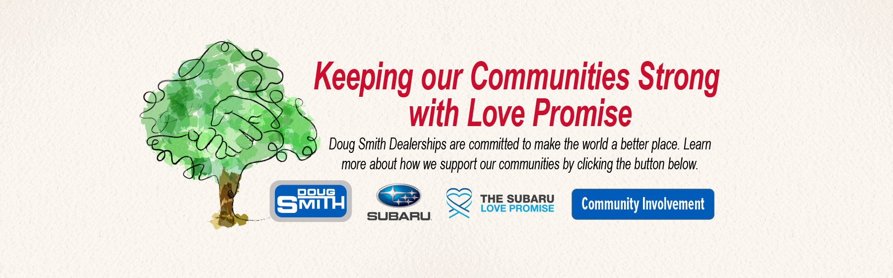Doug Smith Subaru Dealership Supports our Community