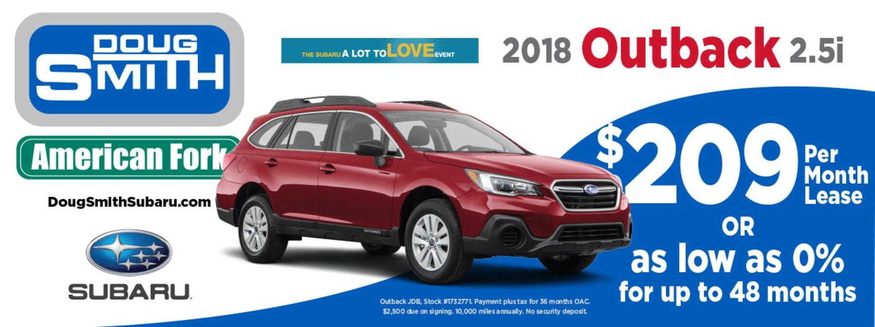New & Used Subaru Car Dealer American Fork | New Subaru and Used ...