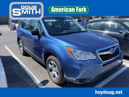 Featured used 2015 Subaru Forester 2.5i SUV for sale in American Ford, UT