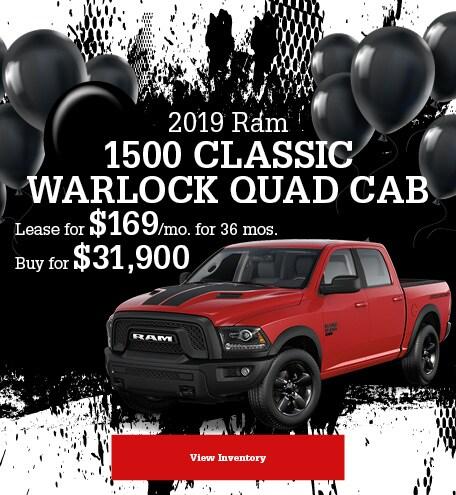 Ram 1500 Classic Warlock Quad Cab Special Offer