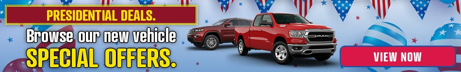 New Vehicle Special Offers at Dover Dodge Chrysler Jeep