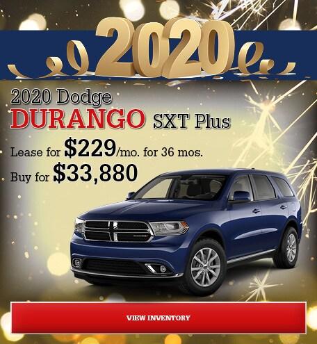 Dodge Durango SXT Plus Special Offer
