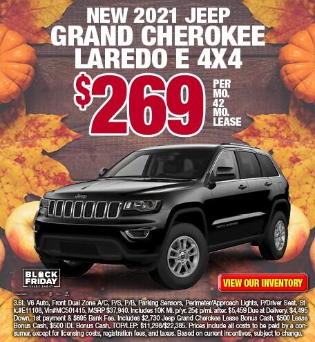 Jeep Grand Cherokee Laredo E Lease Offer
