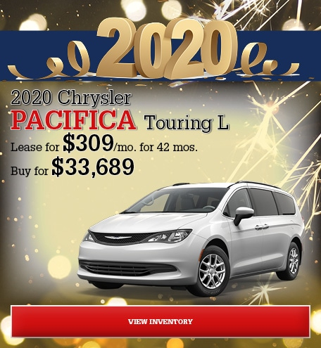 Chrysler Pacifica Touring L Special Offer