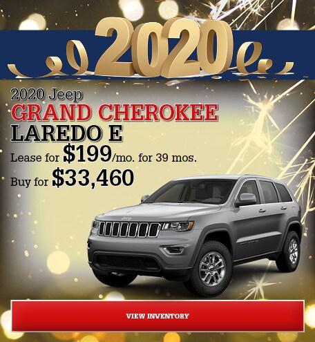 Jeep Grand Cherokee Laredo E Special Offer