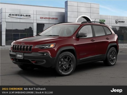 New 2021 Jeep Cherokee TRAILHAWK 4X4 Sport Utility For Sale in East Hanover, NJ