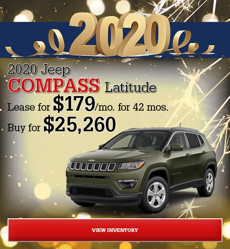 Jeep Compass Latitude Special Offer
