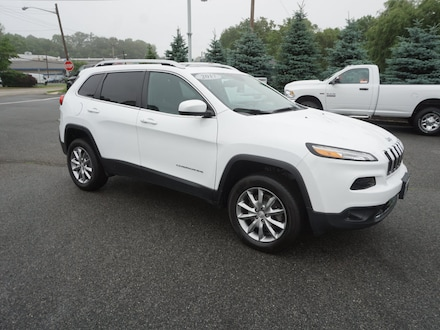 Used 2017 Jeep Cherokee Limited SUV Sussex, NJ