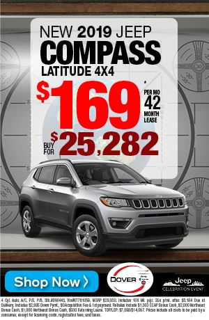 2019 Jeep Compass Special Offer