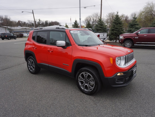Jeep Renegade Limited >> Used 2018 Jeep Renegade Limited For Sale In Rockaway Nj Vin