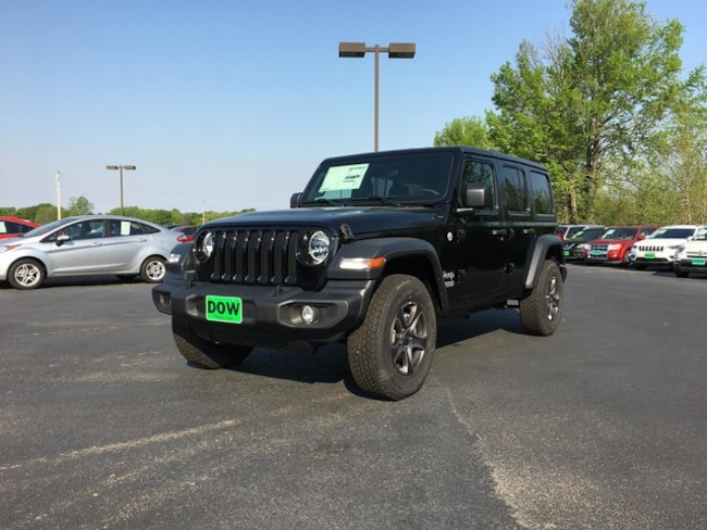 new 2019 Jeep Wrangler UNLIMITED SPORT S 4X4 Sport Utility in oittsburg tx