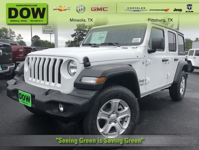 new 2018 Jeep Wrangler UNLIMITED SPORT S 4X4 Sport Utility in oittsburg tx