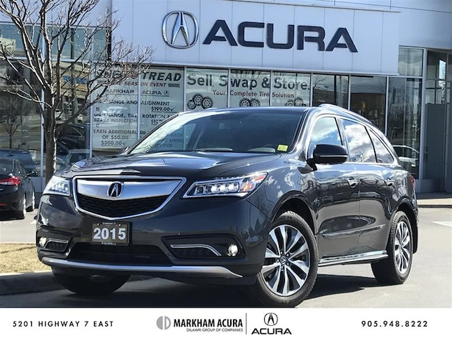 2015 Acura MDX Tech at SH-AWD, Rear Entertainment Sys