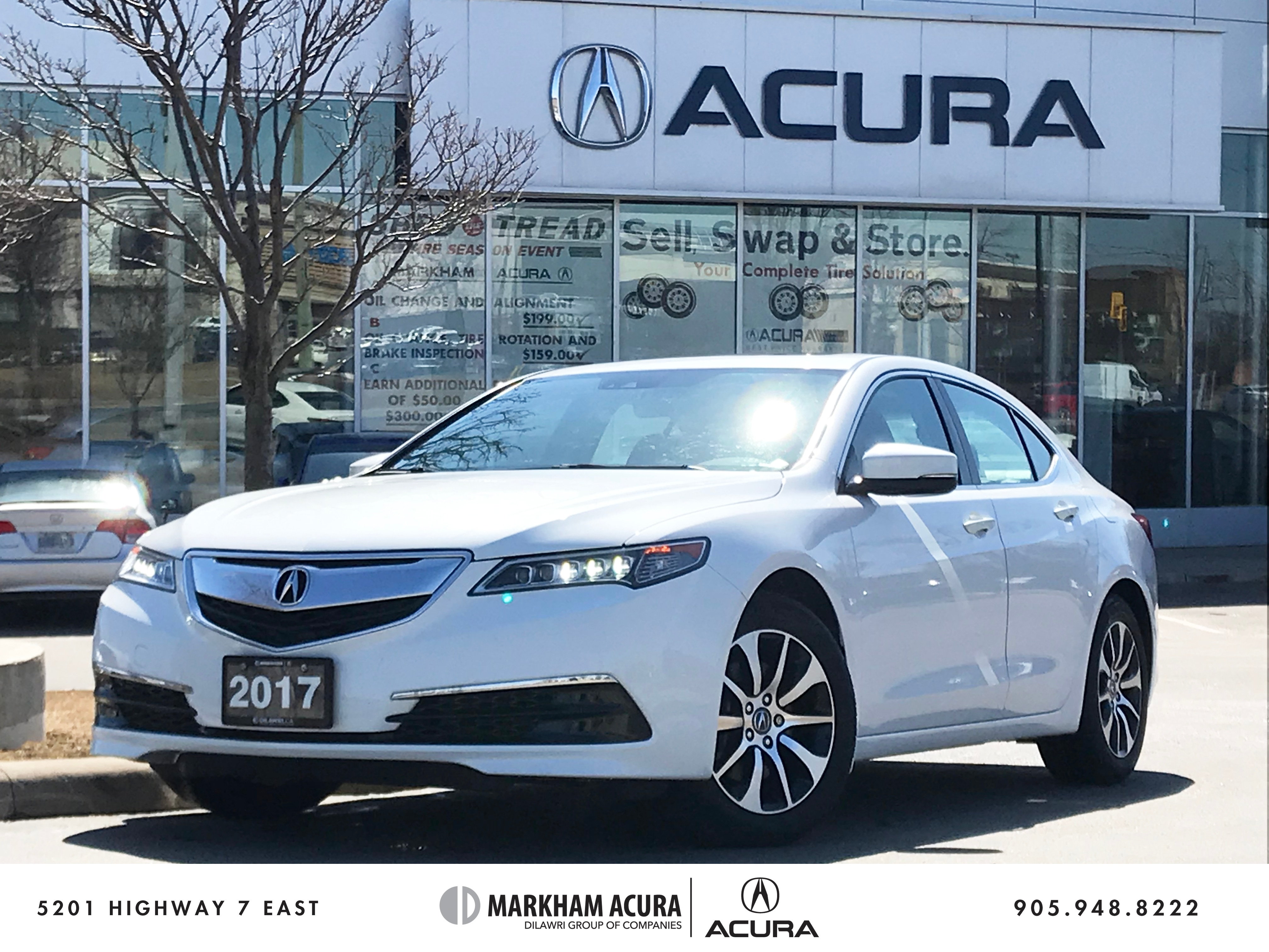 2017 Acura TLX 3.5L SH-AWD w/Tech Pkg Navi, Backup Cam, BSM, Htd Sedan