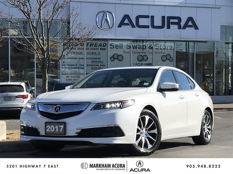 2017 Acura TLX 2.4L P-AWS w/Tech Pkg Navi, Backup Cam, BSM, Heate Sedan