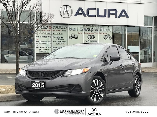 Used 2015 Honda Civic For Sale At Markham Acura Vin 2hgfb2f55fh058789