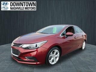 Used 2016 Chevrolet Cruze Premier Auto Sedan 1G1BG5SM2G7302160 Nashville, TN