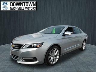 Used 2018 Chevrolet Impala Premier w/2LZ Sedan 2G1125S36J9128732 Nashville, TN