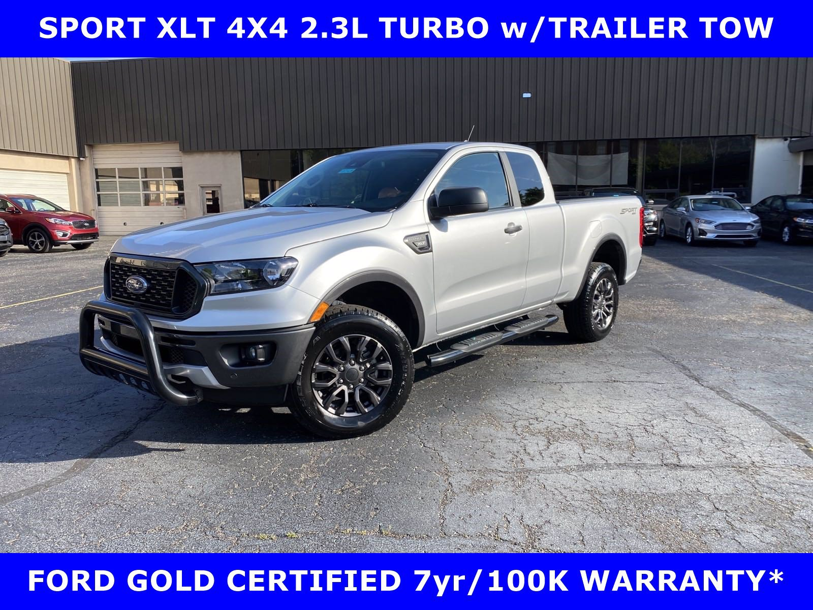 2019 Ford Ranger SPORT XLT 4X4 TURBO w/TOW-ALLOYS-CAMERAS Truck SuperCab