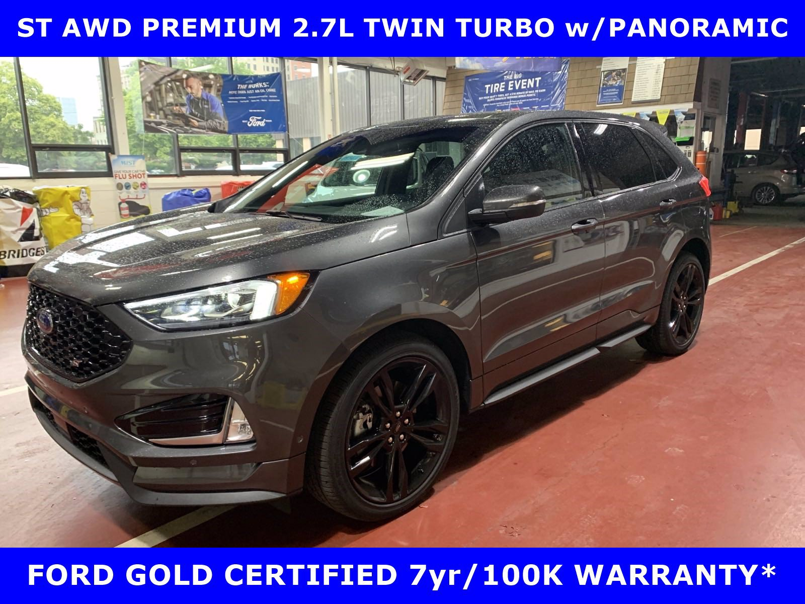 2020 Ford Edge ST PREM AWD 2.7L TWIN TURBO w/PANORAMIC-21in ALLOY SUV