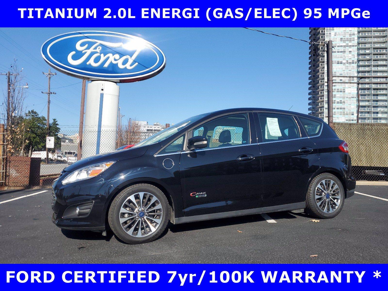 2017 Ford C-Max Energi CERTIFIED TITANIUM 2.0L ENERGI w/PANORAMIC-LEATHER Hatchback