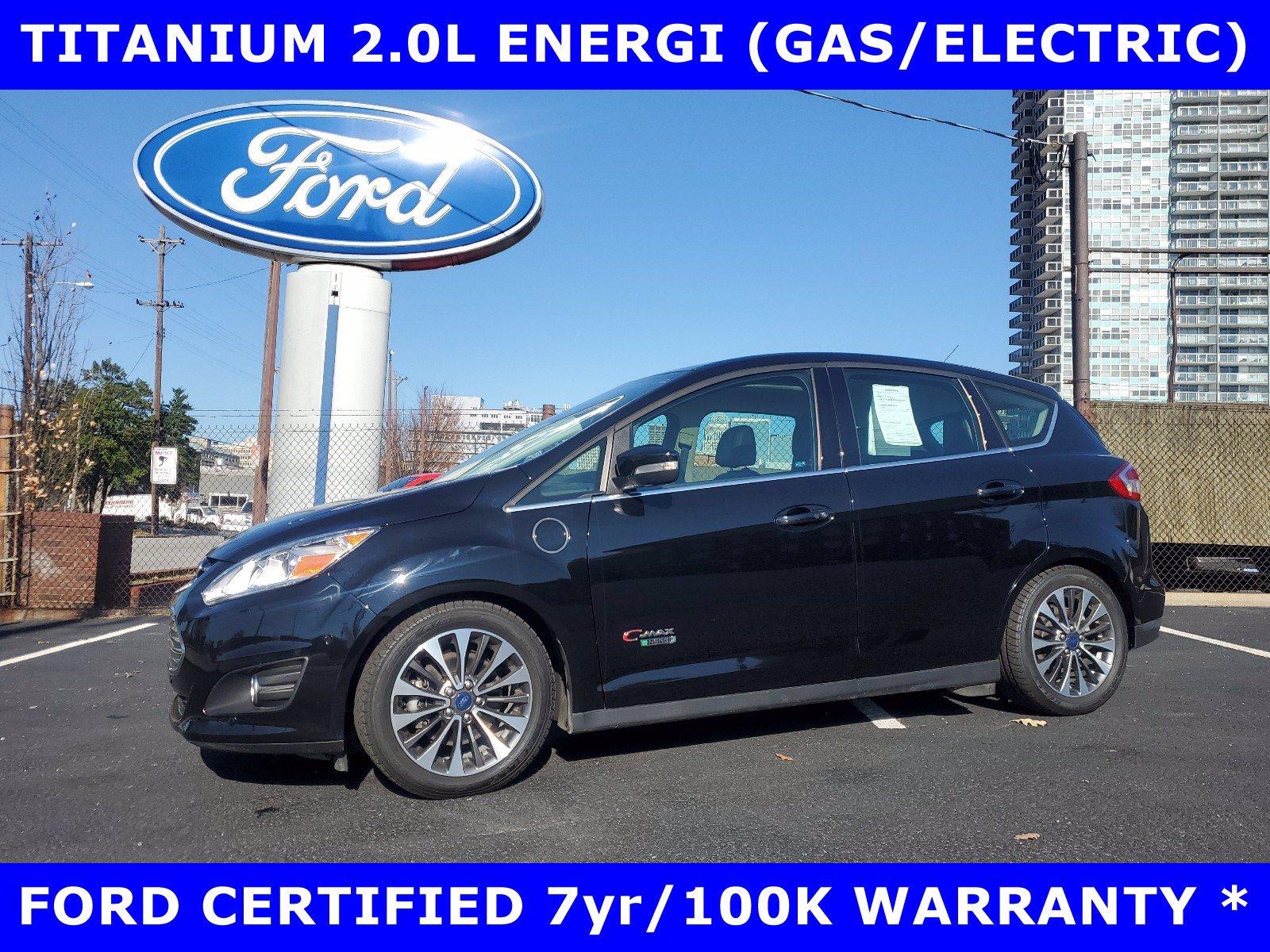 2017 Ford C-Max Energi TITANIUM 2.0L ENERGI w/PANORAMIC-NAV-LEATHER Hatchback