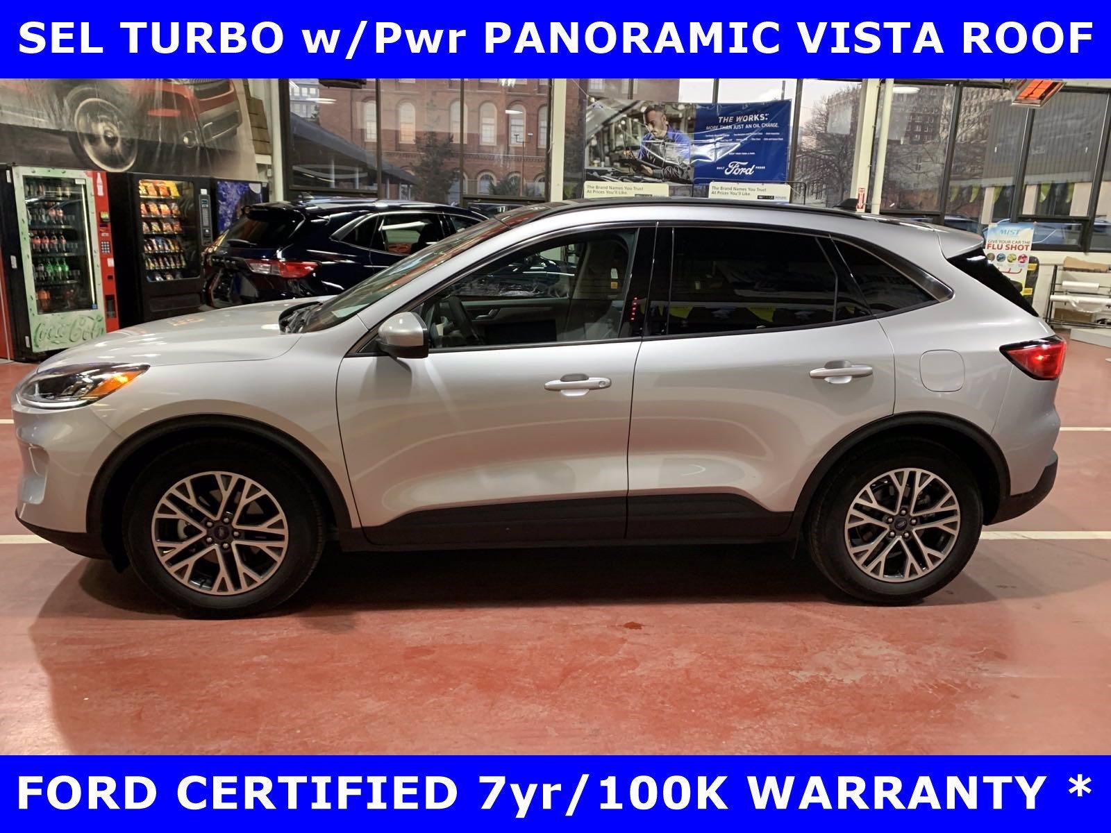 2020 Ford Escape SEL TURBO w/PANORAMIC-Htd SEATS-18in SPORT ALLOYS SUV