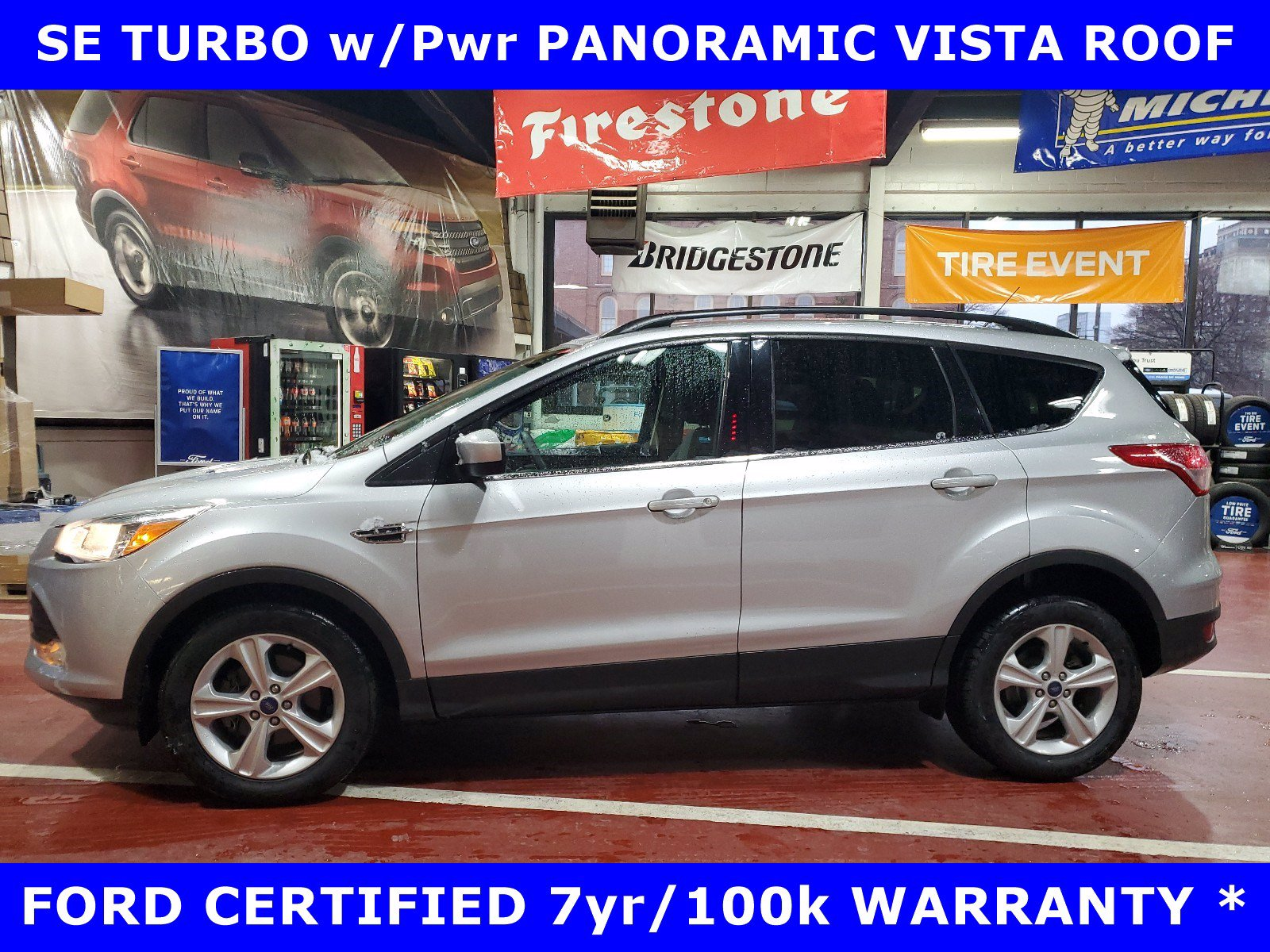 2016 Ford Escape FORD CERTIFIED SE TURBO w/PANORAMIC SUV