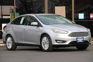 2018 Ford Focus Titanium Sedan 1FADP3J23JL244875