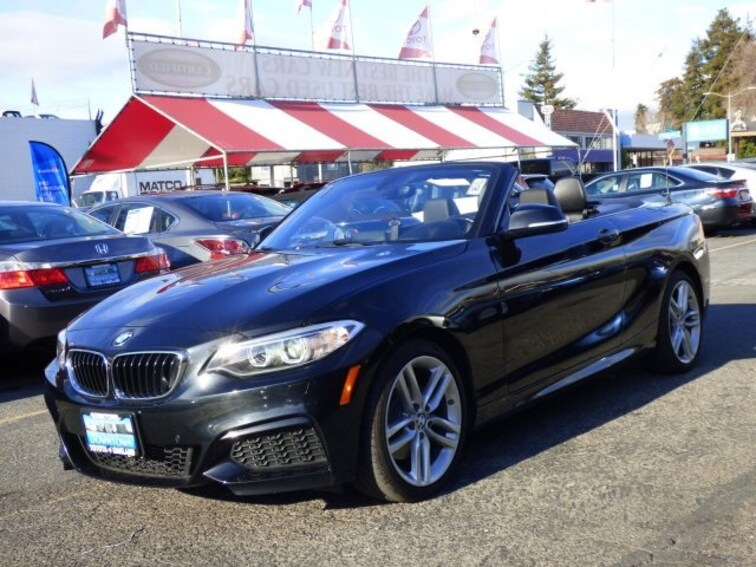 Used 2015 BMW 228i xDrive Convertible Oakland CA