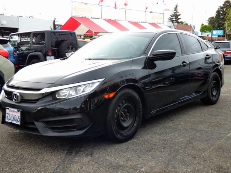 Used 2016 Honda Civic LX Sedan Oakland CA