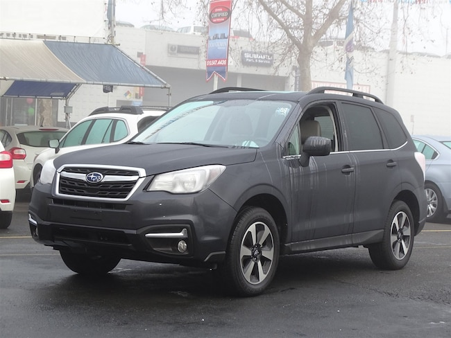 Certified 2018 Subaru Forester Limited 2.5i Limited CVT Oakland CA