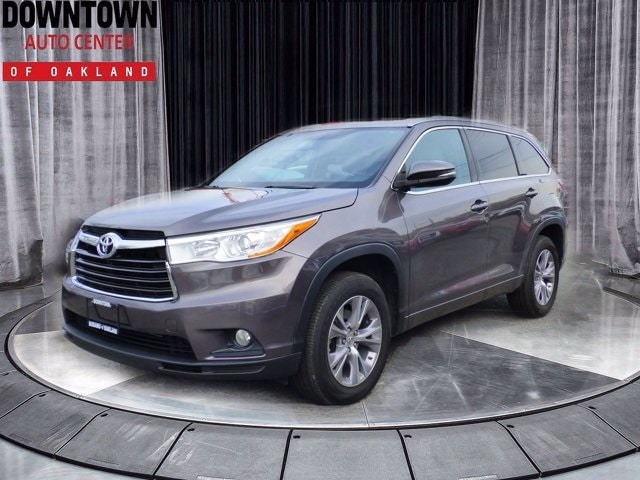 Used Toyota Highlander Oakland Ca