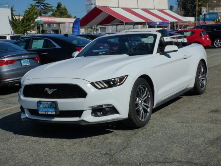 Used 2017 Ford Mustang EcoBoost Premium Convertible Oakland CA