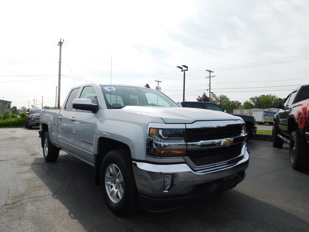Featured Used 2016 Chevrolet Silverado 1500 LT Truck Double Cab for Sale in Webster, NY