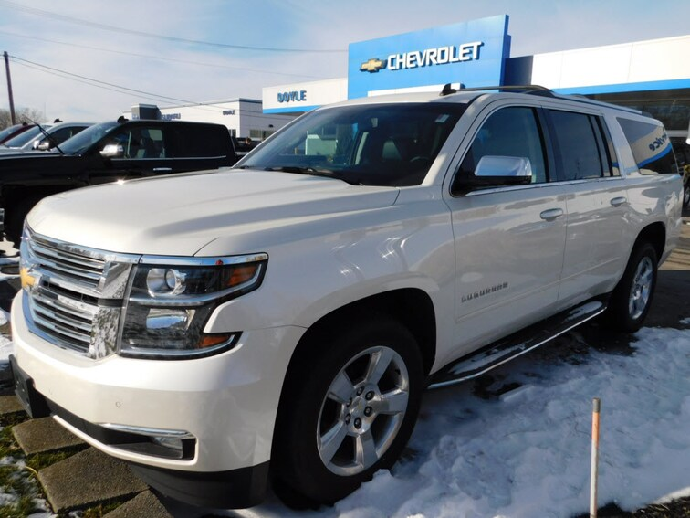 Used 2015 Chevrolet Suburban 1500 LTZ SUV Webster, NY