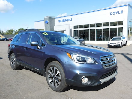 Featured Used 2017 Subaru Outback 2.5i Limited with SUV for Sale in Webster, NY